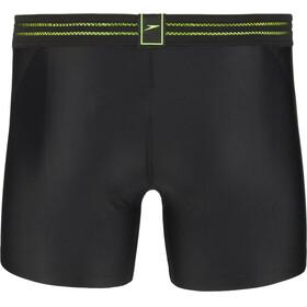 speedo Hydrosense Bonded Aquashorts Men, black/green